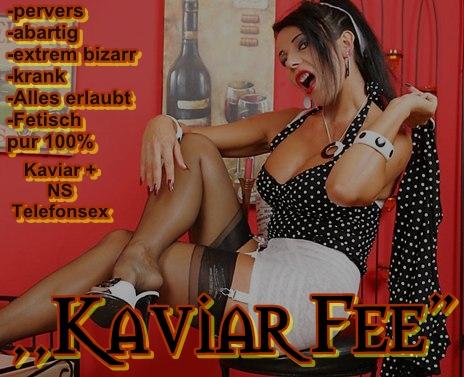 bizarr Kaviar total abartig